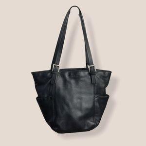 Vintage Stone & Co Black Shoulder Bag